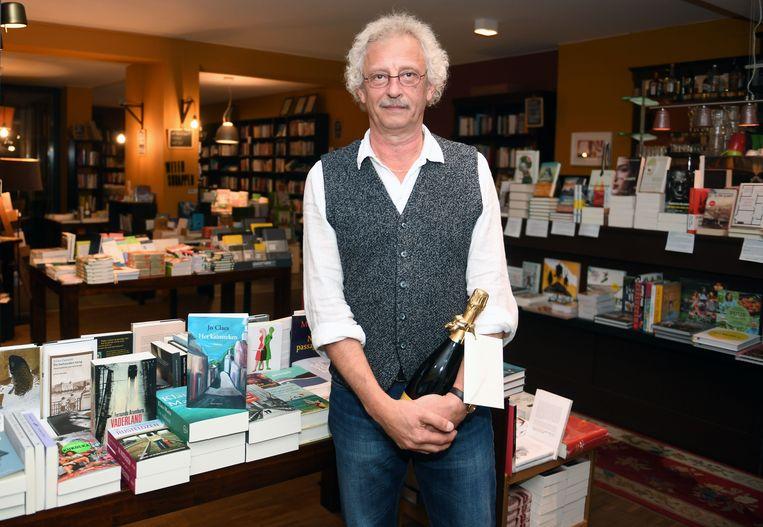 De Leuvense auteur Jo Claes stelde zijn nieuwste boek 'Liefde en Lust' voor in Barboek in Leuven. In die boekenwinkel stelde hij vorig jaar ook zijn boek 'Het Kaïnsteken' voor.