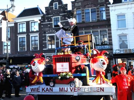 Carnavalsoptocht Delft afgelast in verband met harde wind