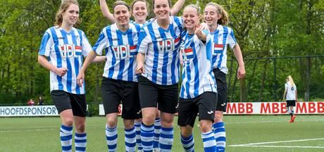 Dames FC Eindhoven halen meteen flink uit in de topklasse: 5-0