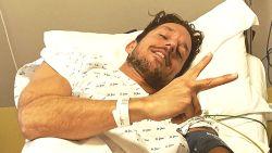 """Damiano uit 'Blind Getrouwd' na ziekenhuisopname: """"Geen corona, wel bijna twee maanden aan bed gekluisterd"""""""