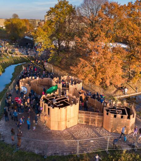 Speelkasteel in Stadshagen is goedgekeurd en mag eindelijk open