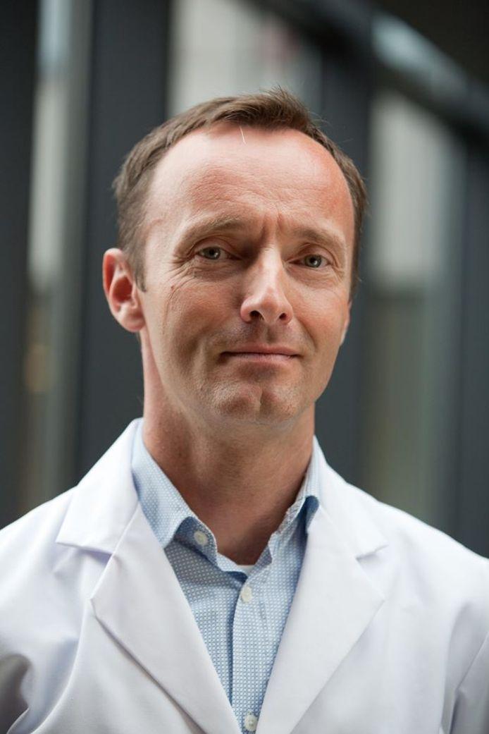 Gynaecoloog Peter Braet.