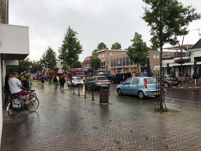 Zeer grote brand in de Julianastraat in Dedemsvaart.