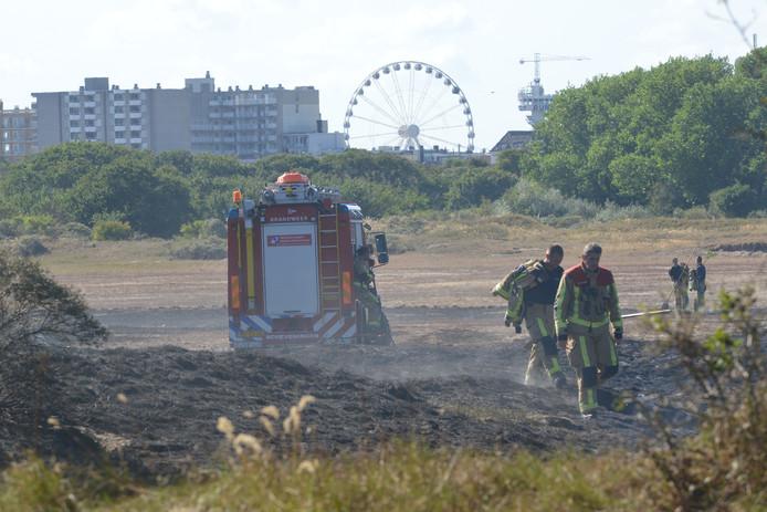 Duinbrand Scheveningen, 17-08-2018
