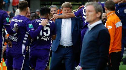 VIDEO. De rust keert weer wat terug: paars-wit wint op veld van Zulte Waregem én spelers maken statement met viering