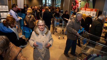 Van protest geen sprake meer: honderden klanten bestormen nieuwe Albert Heijn in Deurne