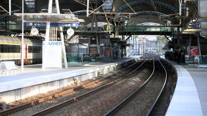 Minderjarige aangereden door trein in station van Leuven: zwaargewond afgevoerd