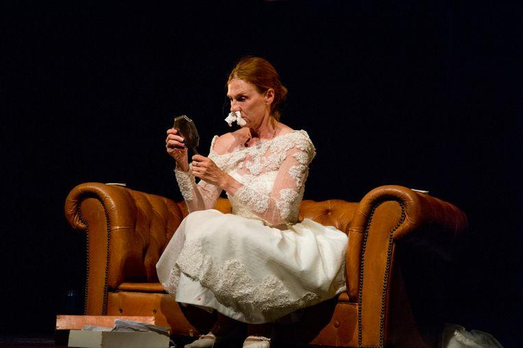 Elsie de Brauw in 'Vrouw in niemandsland' Beeld JeanPhilipse