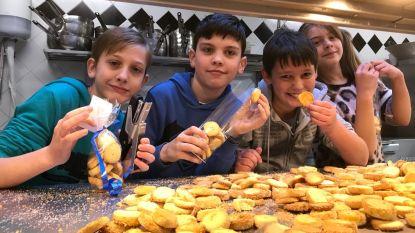 Warme school De Brug ondersteunt Aalsters dierenasiel via Ketnet-koekenbak
