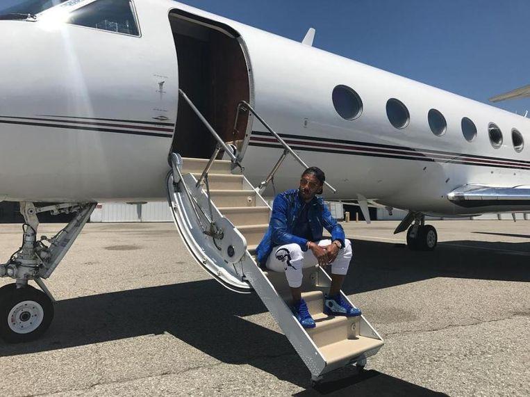 Klaar voor de privé-jet.