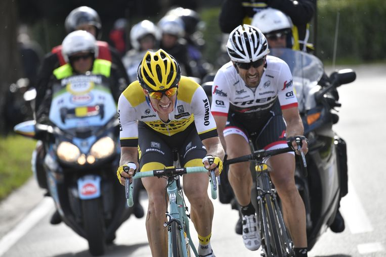 Cancellara en Vanmarcke kregen het gat niet meer dicht
