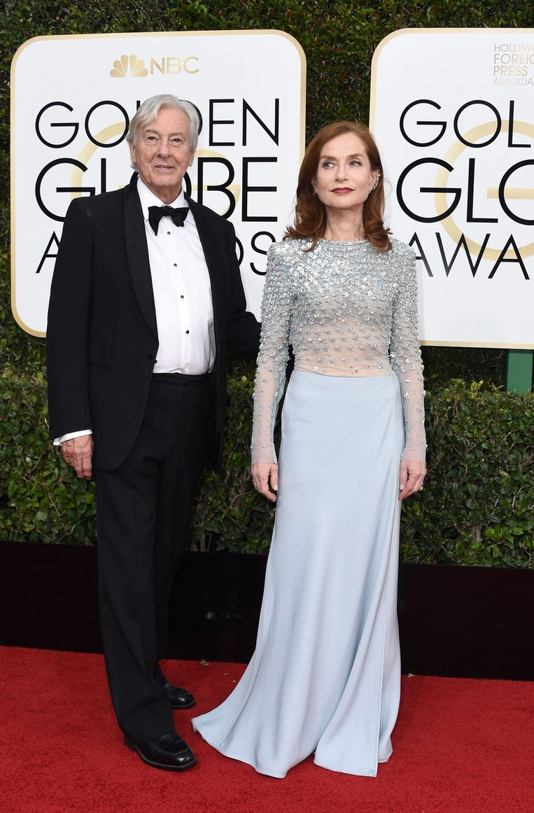 Paul Verhoeven en Isabelle Huppert.