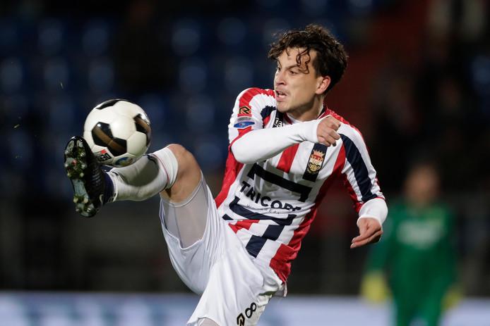 Thom Haye in zijn tijd bij Willem II.