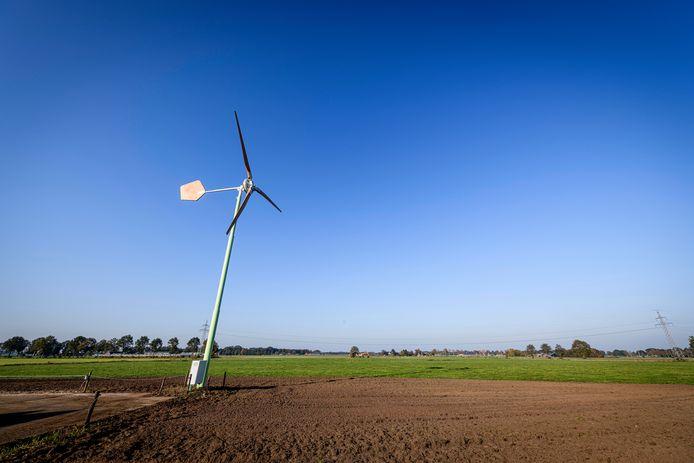 Er verrijzen meer windmolens in Twente.