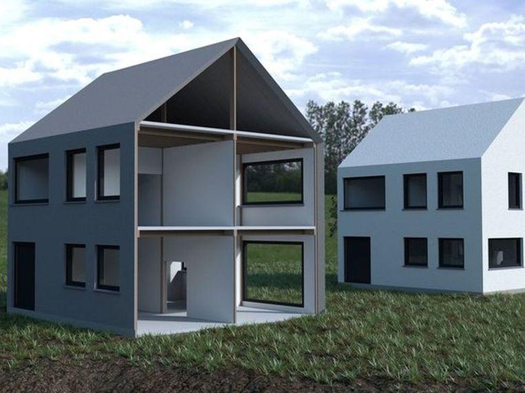 Voor de buitenafwerking van de woning kan je nog alle kanten uit.