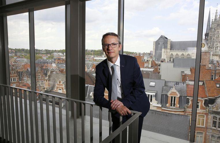 Luc Sels, rector van de KU Leuven.