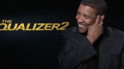 """VIDEO. Denzel Washington (63) weigert complimentje van Aagje Vanthomme: """"Ik ben een mens"""""""