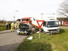 Gewonde bij verkeersongeval in Heerde