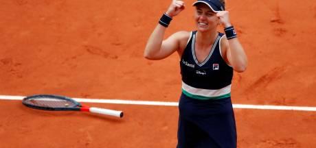 Historique: Podoroska première joueuse issue des qualifications à atteindre les demi-finales à Paris