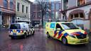 Hulpdiensten zijn uitgerukt naar de Zwolse binnenstad na de vondst van een granaat.