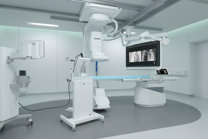 De Azurion röntgen scanner van Philips.