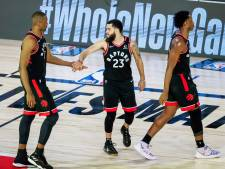 Toronto Raptors weer in balans tegen Boston Celtics in halve finale play-offs