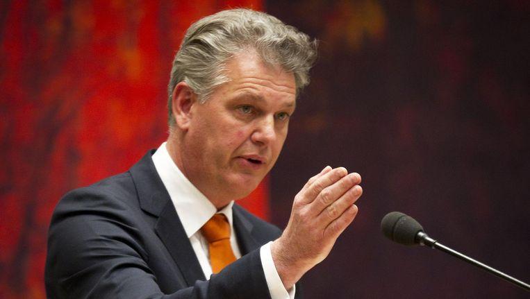Brinkman (52) zou in 2013 een vrouw hebben willen laten opdraaien voor een mishandeling die ze volgens haar advocaat Bart Swier nooit heeft gepleegd Beeld anp
