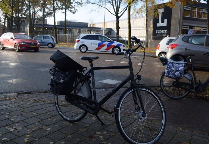 De plek van de aanrijding in Doetinchem.