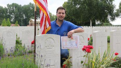Museumuitbater adopteert graf Amerikaanse soldaat