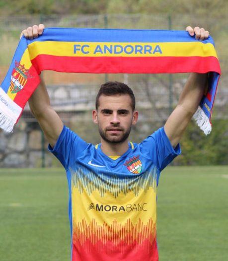 Hector Hevel helemaal thuis bij het FC Andorra van Piqué: 'Met Shakira kwam hij ons aanmoedigen'