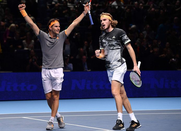 Wie wint de ATP Finals? Dominic Thiem (links) of Stefanos Tsitsipas?