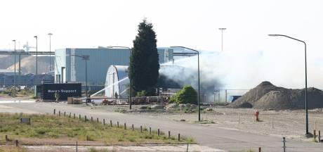 Brand in werkplaats op voormalig Thermphos-terrein in Ritthem