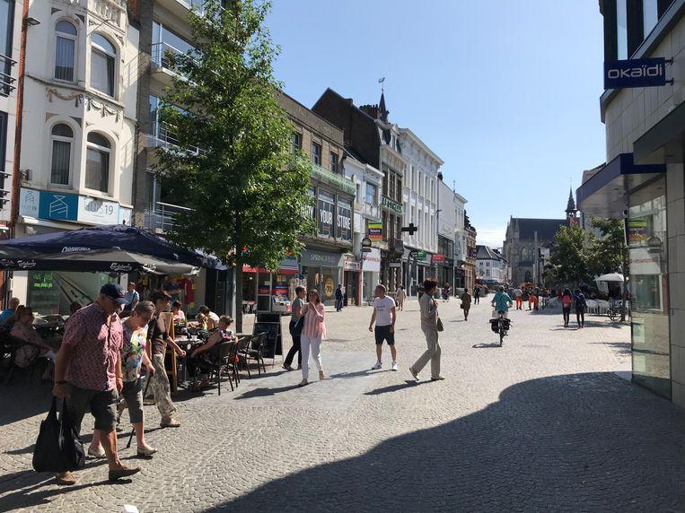 Solden in Aalst centrum.