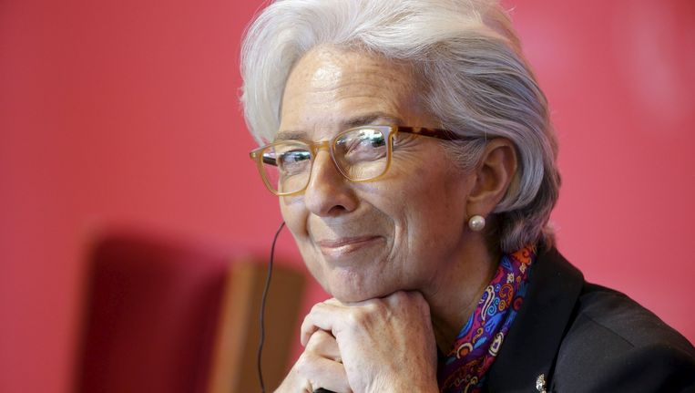 Christine Lagarde. Beeld reuters