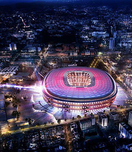Dit is het nieuwe stadion van Barça met 105.000 plaatsen