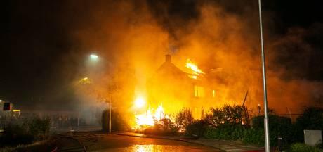 Brand die leidde tot confrontatie tussen politie en omstanders in Wezep, is niet aangestoken