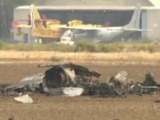 Straaljager stort neer bij vliegbasis Madrid