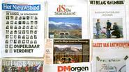 Vlaamse krantenverkoop in dalende lijn