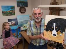 Joep schildert met hoogbejaarden: 'Handen bibberen, maar ze doen het fantastisch'