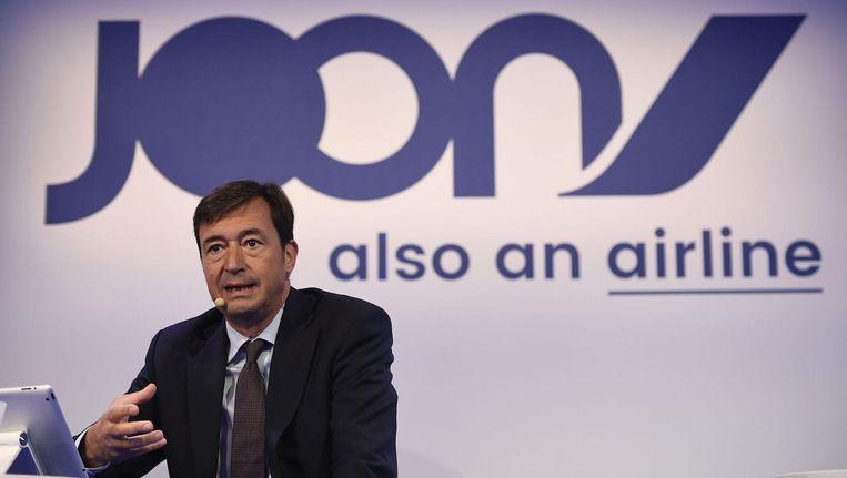 Topman Franck Terner tijdens de persconferentie Beeld anp