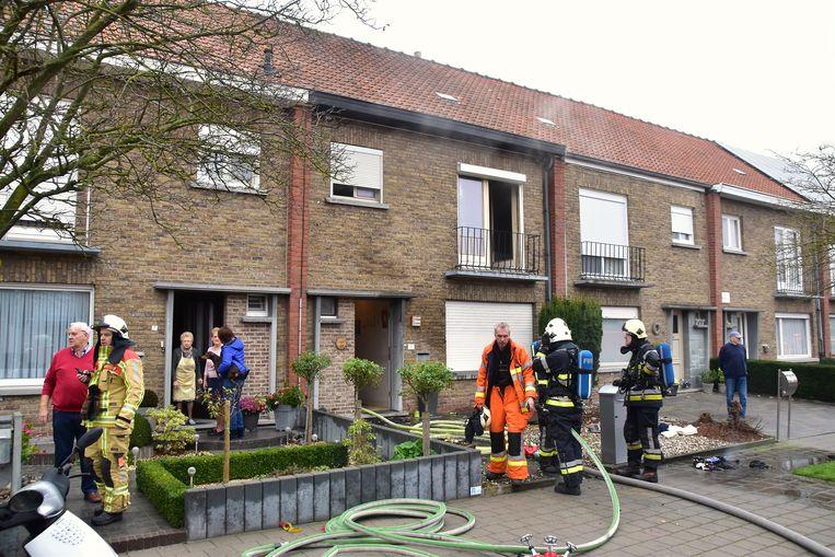 De vrouw stak op 15 november vorig jaar een wasmand op de eerste verdieping in haar woning in brand.