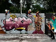 Schone lei voor graffitispuiters in Eindhovense Berenkuil