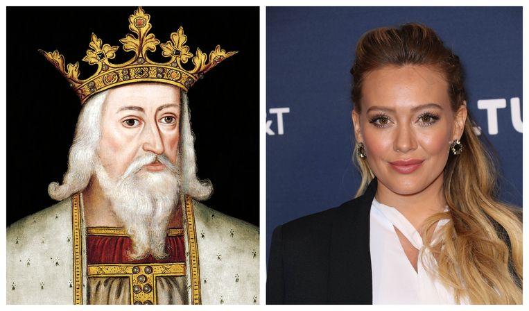 Edward III en Hilary Duff