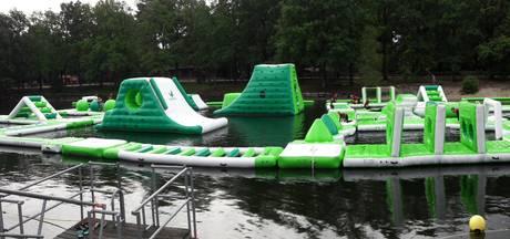 Aquapark Kempervennen in Westerhoven in gebruik