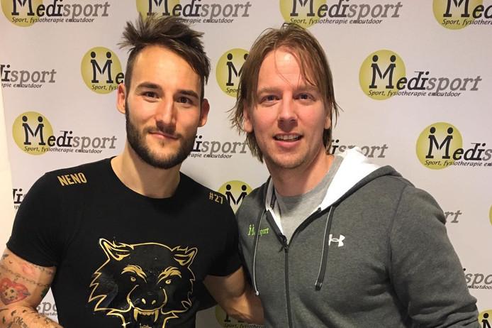 Rob van den Wijngaart met Nemanja Gudelj