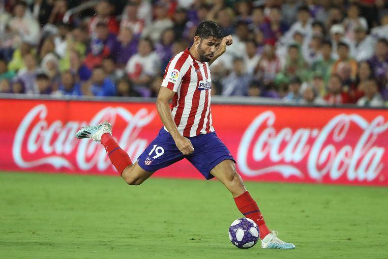 Diego Costa liep een spierblessure op in de adductoren.