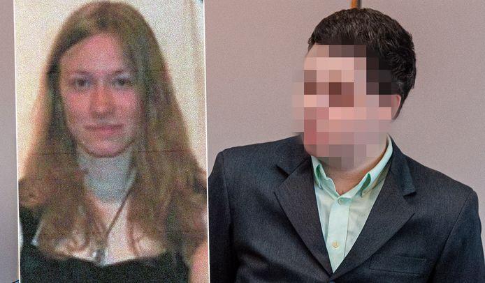 Shashia Moreau en haar vermoedelijke moordenaar, beschuldigde Jonny Van Den Broeck.