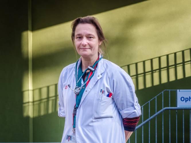 """INTERVIEW. Erika Vlieghe viert oudejaar met een iets geruster gemoed: """"Blij dat de regering geluisterd heeft"""""""