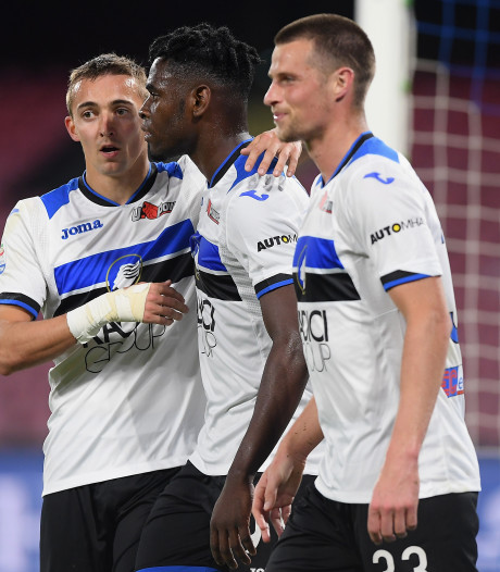 Atalanta mag dromen van Champions League na zege bij Napoli