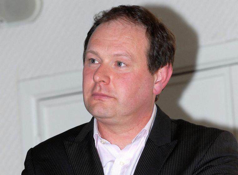 Burgemeester Vincent Scourneau (MR).